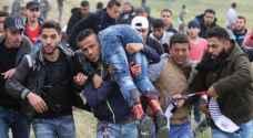 فلسطين .. شهيدان وعشرات الاصابات في يوم الأرض