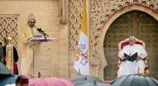 """بالفيديو .. ملك المغرب يفاجئ بابا الفاتيكان بتصرف """"غير مسبوق"""""""