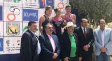 4 ميداليات لمنتخب الترايثلون في البطولة العربية