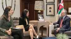 الملك يستقبل نائب رئيس بنما
