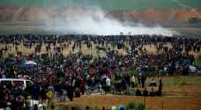 """إصابات بقمع الاحتلال لمسيرات جمعة """"انتصار الكرامة"""""""