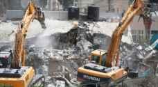 الاحتلال يهدم 54 وحدة سكنية في الضفة والقدس الشهر الماضي
