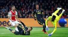 رونالدو يسجل الهدف 125 أمام أياكس في دوري الأبطال