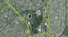 """إغلاقات وتحويلات مرورية على تقاطع """"دوار المدينة"""" في عمان إعتبارا من الجمعة المقبل - صور"""