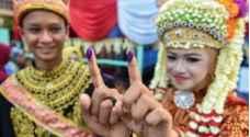 الإندونيسيون أدلوا بأصواتهم لانتخاب رئيس أكبر دولة مسلمة