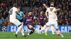 ميسي وكوتينيو يمنحان برشلونة رقماً مميزاً