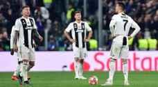 تراجع كبير لأسهم يوفنتوس بعد الخروج من دوري أبطال أوروبا