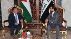 الطراونة من بغداد يدعو إلى توحيد الجهود لمواجهة التحديات التي تواجه المنطقة
