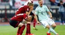 بايرن يسقط في فخ التعادل مع نورمبرغ