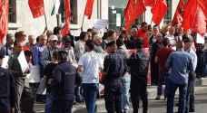 مسيرة للتيار الوطني الديمقراطي بمناسبة عيد العمال - صور