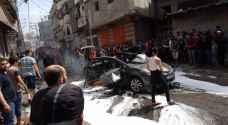 الاحتلال ينفذ عملية اغتيال لفلسطينيين بداخل سيارة في غزة.. صور