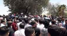 تشييع جثمان الشابين قصي وزيد العدوان في شفا بدران