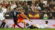 أرسنال يهزم فالنسيا ويبلغ نهائي الدوري الأوروبي
