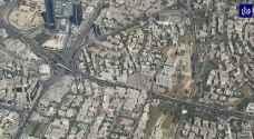 فيديو من السماء يرصد أزمات السير في العاصمة عمان