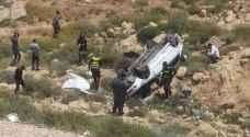 وفاة شاب بحادث تدهور على شارع الأردن