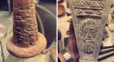 القبض على شخص بحوزته قطع أثرية في عمّان.. صور