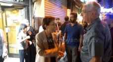 """""""رؤيا"""" تلتقي الأميرة بسمة بنت طلال في وسط البلد بعمان - فيديو وصور"""