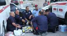 نشامى الأمن العام والدرك يتناولون طعام الإفطار في الميدان - فيديو