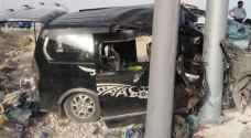 وفاتان وإصابة بحادث سير مروع على طريق الـ 100 - صور