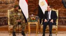 رئيس المجلس العسكري الانتقالي السوداني يلتقي السيسي في القاهرة
