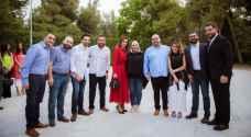 الملكة رانيا العبدالله تقيم مأدبة إفطار لعدد من الشباب والشابات.. فيديو وصور