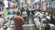"""تجار يعولون على """"العيد"""" لزيادة مبيعاتهم من الالبسة والاحذية"""