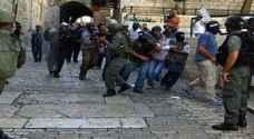 الاحتلال يعتقل 3 مقدسيين من المسجد الأٌقصى