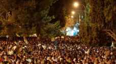 أكثر من 400 ألف يحيون ليلة القدر في المسجد الأقصى.. صور