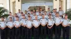 إرادة ملكية بترفيع كوكبة من ضباط الدفاع المدني - أسماء