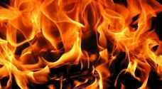حدث يحاول الانتحار يشعل النار بجسده في إربد