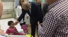 وزير الصحة يتفقد مستشفى الزرقاء الحكومي أول أيام العيد