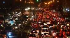 """أزمات مرورية خانقة في عمان.. و""""ادارة السير"""" تكشف الأسباب"""
