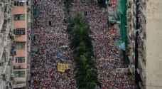 اشتباكات خلال تظاهرة ضخمة في هونغ كونغ ضدّ مشروع قانون يسمح بتسليم المطلوبين للصين