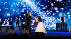 نانسي عجرم توجه رسالة للسعوديين بعد حفلها الغنائي الأول