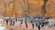 نحو 615 ألف سائح زاروا المملكة منذ مطلع العام