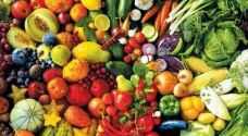 تناول الفاكهة والخضراوات 5 مرات يوميًّا يحمي من الأمراض القاتلة