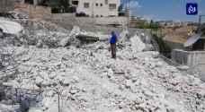 الاحتلال يشرع بهدم منازل في مخيم شعفاط ضمن خطة لإزالته