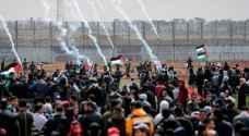 إصابات خلال قمع الاحتلال للمسيرات الأسبوعية في غزة