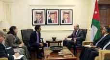 الصفدي يستعرض ووفدا أمريكيا جهود الحل السياسي للأزمة السورية