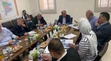 العموش يتفقد مشروع مركز جمرك عمان الجديد بالماضونة