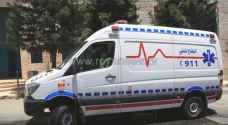 """وفاة و5 اصابات بحادث تصادم في """"نزول صافوط"""""""