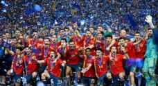 إسبانيا تتوج بكأس أوروبا تحت 21 عاما
