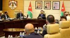 ولي العهد يترأس جانبا من جلسة مجلس الوزراء - صورة