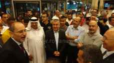 وصول مجموعة من الأردنيين العاملين في كازاخستان إلى عمان.. فيديو وصور