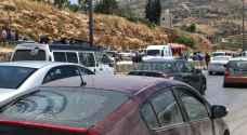 17 إصابة بحادث تصادم في محافظة عجلون
