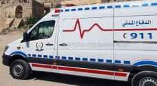 وفاة أربعيني بحادث تصادم في منطقة نزول العدسية