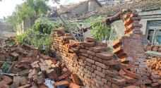 ستة قتلى ونحو مئتي جريح في أعصار في الصين