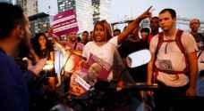 """احتجاجات """"يهود الفلاشا"""" تتصاعد وشرطة الاحتلال تتوعد عقب مقتل أحد الاثيوبيين - صور"""