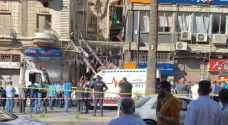 الضمان تتابع شمول حالات الوفاة والاصابة بحادثة مطعم وسط البلد