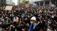 مناوشات جديدة بين المتظاهرين والشرطة في هونغ كونغ